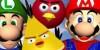 mario vs angrybirds